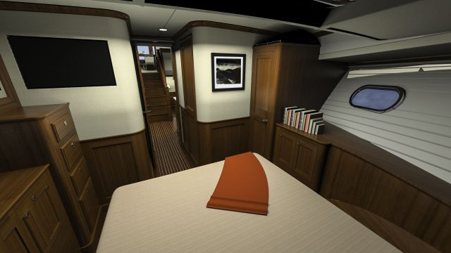 Hunt Yachts Ocean Series 63 Forward Cabin