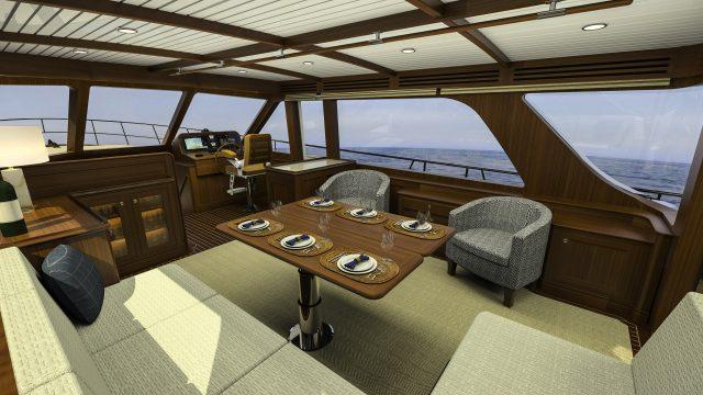 Hunt Yachts Ocean Series 63 Main Salon 2
