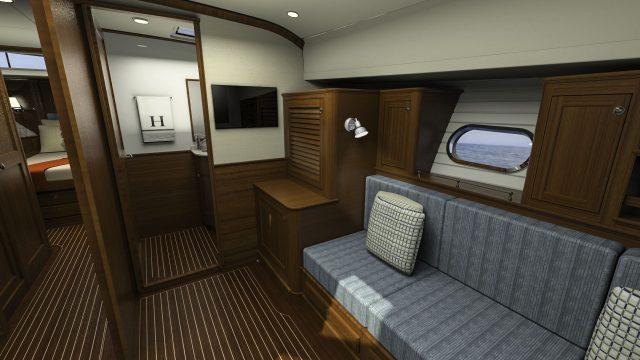 Hunt Yachts Ocean Series 63 Side Cabin