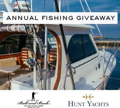 Enter to Win a Hunt Yachts Fishing Excursion
