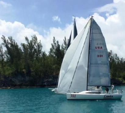 Hunt Sales Director John Jay Mouligne Races in the Bermuda One-Two