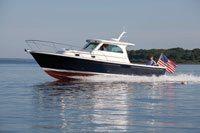 AIM Media and Newport International Boat Show Award The New Hunt 44 Express Sedan No. 1