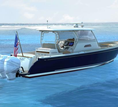 Hunt Introduces the new Coastal Series Flagship: 40 CC