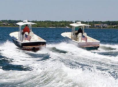Propulsion test: inboard, sterndrive, jet
