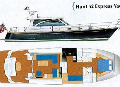 Hunt 52 Express Yacht