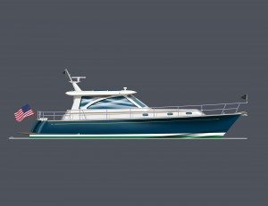 HUNT INTRODUCES 44 EXPRESS CRUISER . . . FIRST 3 ORDERS ARE IN AND SCHEDULED FOR DELIVERY EARLY 2012.