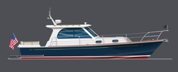 Hunt Yachts Surfhunter 36 Offers 3 Propulsion Choices