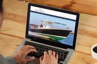 Hunt Yachts Launches Redesigned Website