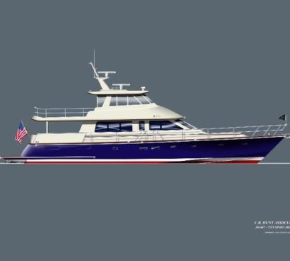 HUNT YACHTS TO BUILD 80'' SPORT MOTORYACHT FOR EXPERIENCED OWNER