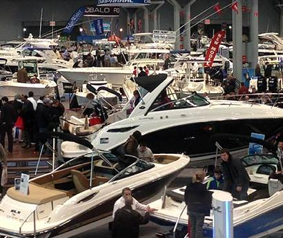 Hunt Yachts at the New York Boat Show