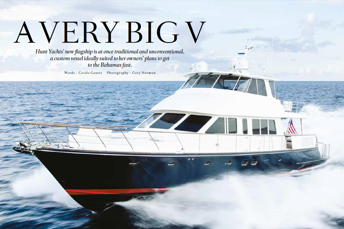 ShowBoats International: The Hunt 80 is both traditional & unconventional