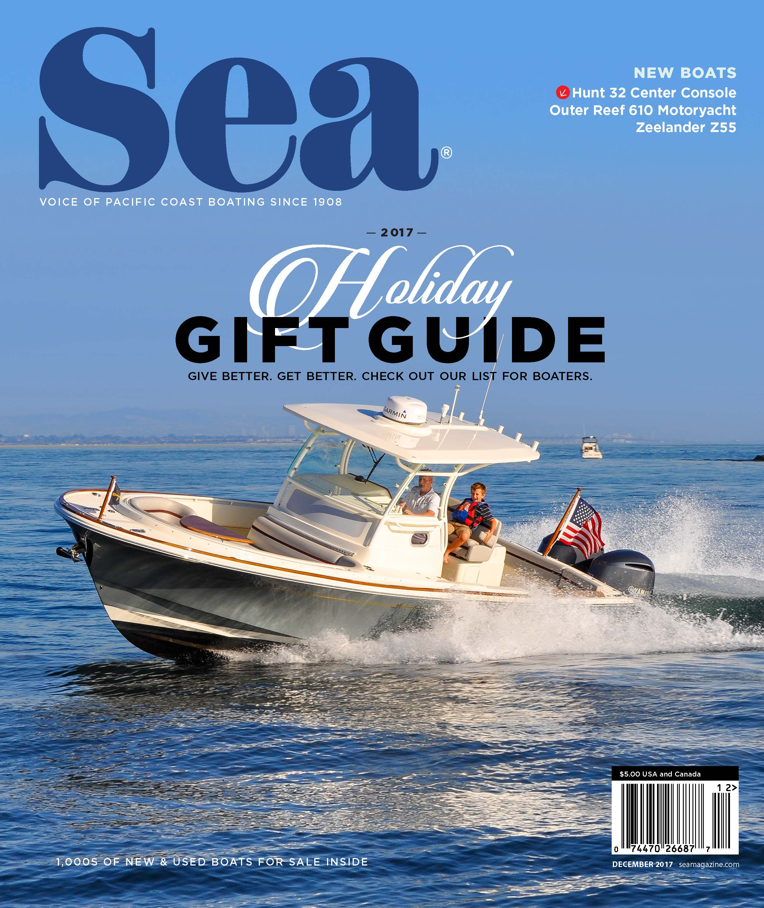 Sea Magazine: Hunt 32 Center Console