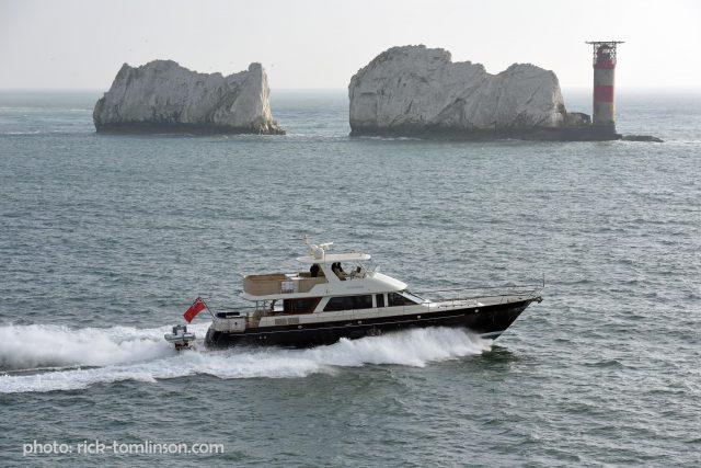 Hunt 76, MY Phoebe off the Isle of Wight. photo: rick-tomlinson.com