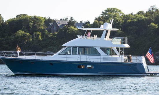 The Hinckley Company Launches Newest Model Hunt Ocean 63